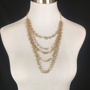Chain Necklace, New With Tags, Color- Gold